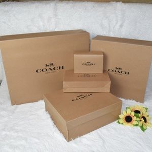 👜COACH🌺Bundle Of Coach Box Gift set(Paper Box)